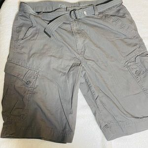New with out tags Calvin Klein chino shorts 36